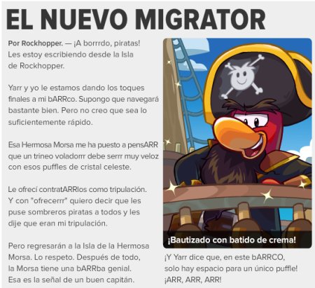 El nuevo Migrator