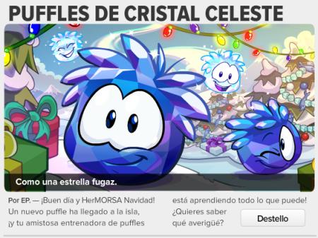 Puffles de cristal celeste