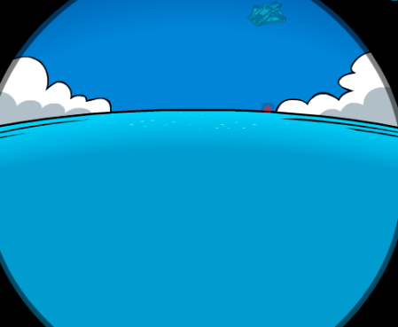 Nave espacial en Club Penguin