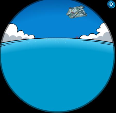 Nave fantasma más cerca de la isla