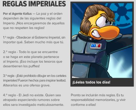 Reglas Imperiales