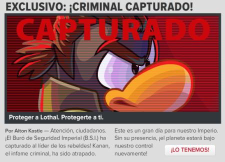 Criminal capturado