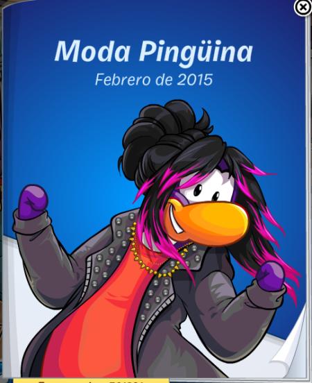 Moda pingüina Febrero 2015